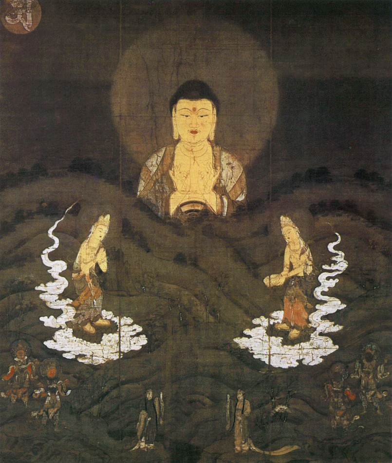 Descent of Amitabha over the Mountain