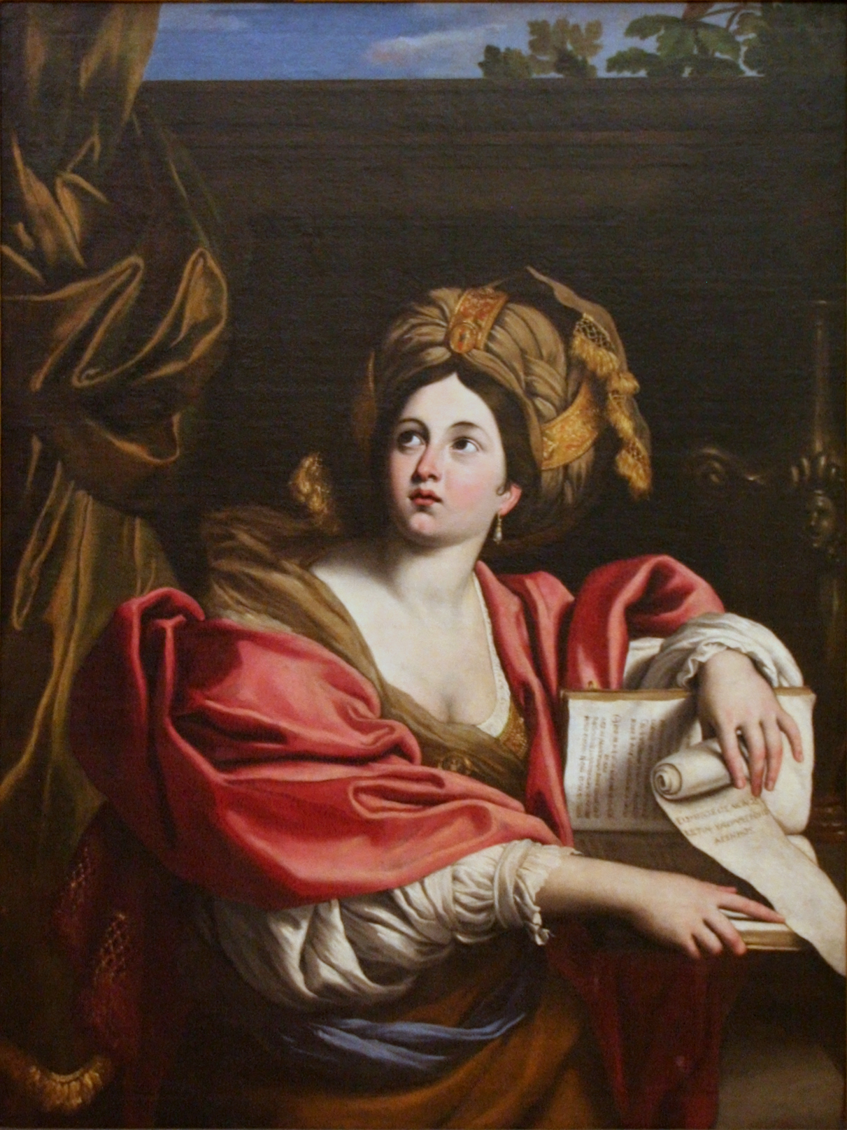 Domenichino - Cumaean Sibyl