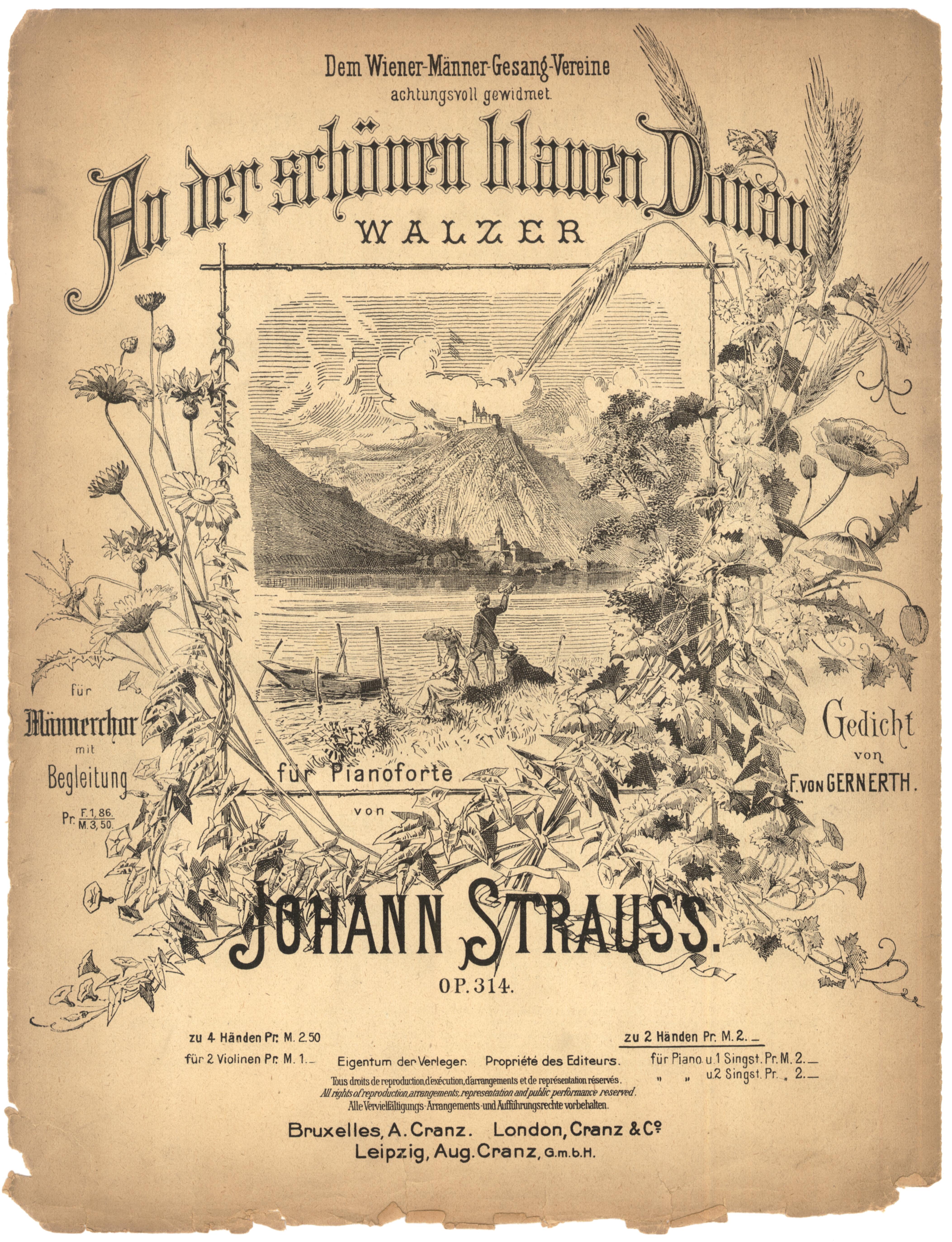 Blue Danube Waltz by Johann Strauss II (worldpress.com)