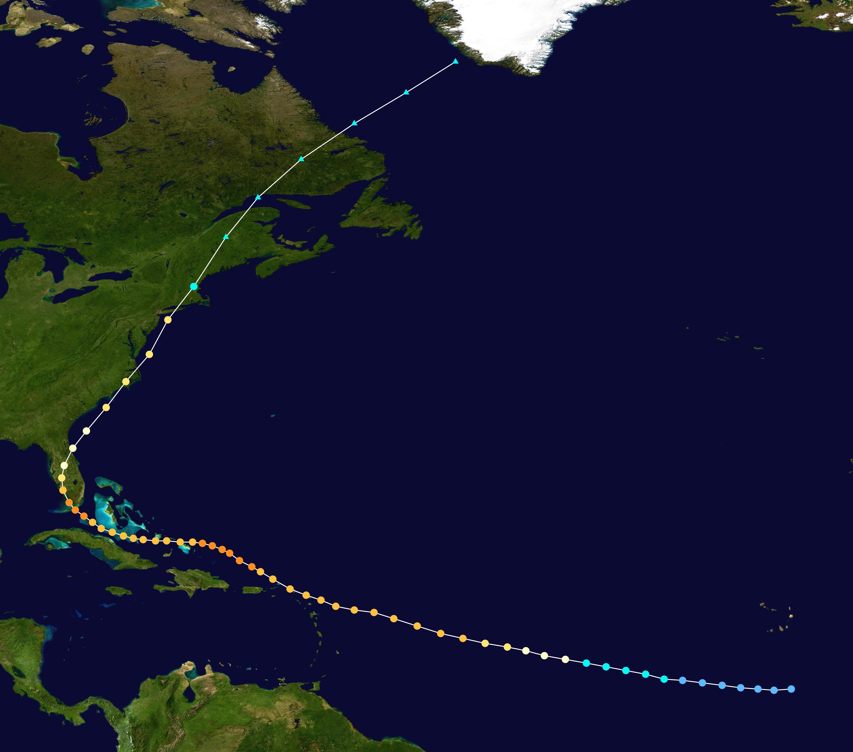 1960 Atlantic hurricane season