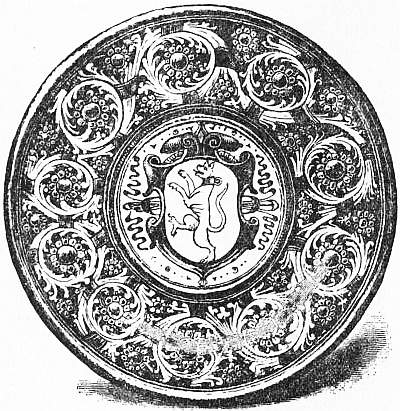 EB1911 Ceramics Fig. 44.—Italian Graffiato Plate, 16th century. (South Kensington Museum.).jpg