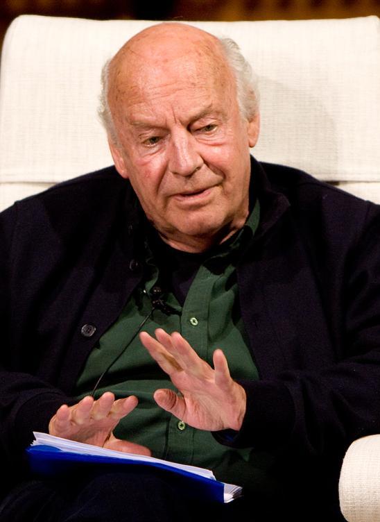 Portrait of Eduardo Galeano