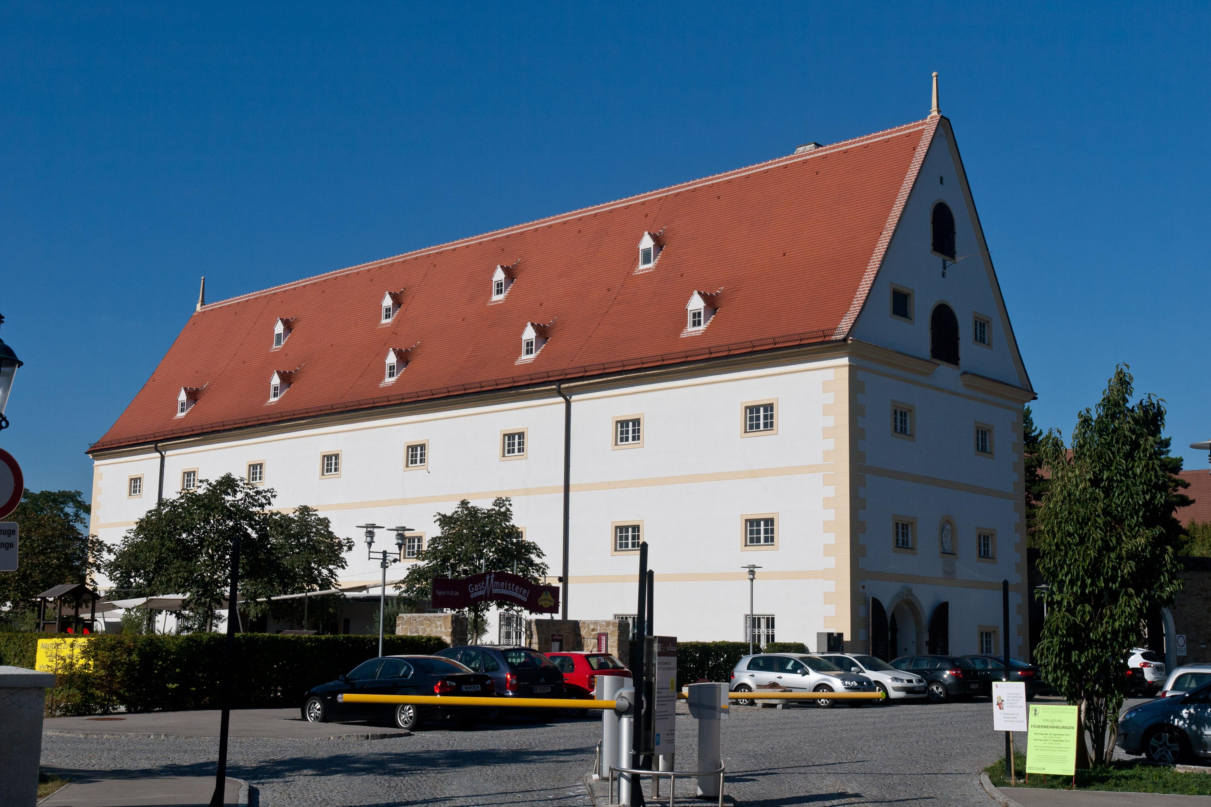 Dateiehem Getreidespeicher Heute Stiftskeller Klosterneuburg