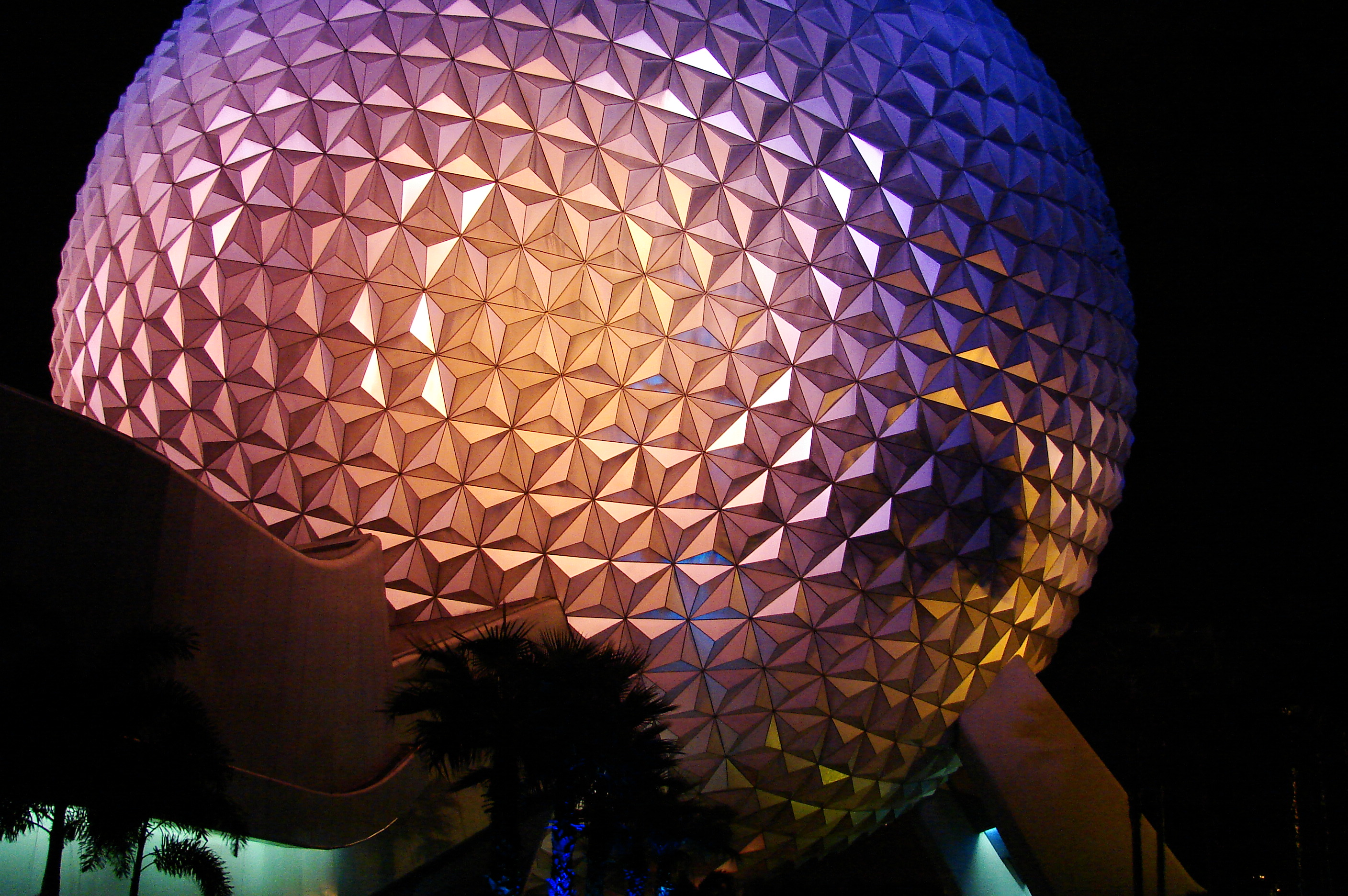 Description Epcot-SpaceshipEarth-Night-0623 jpgEpcot Spaceship Earth Wallpaper