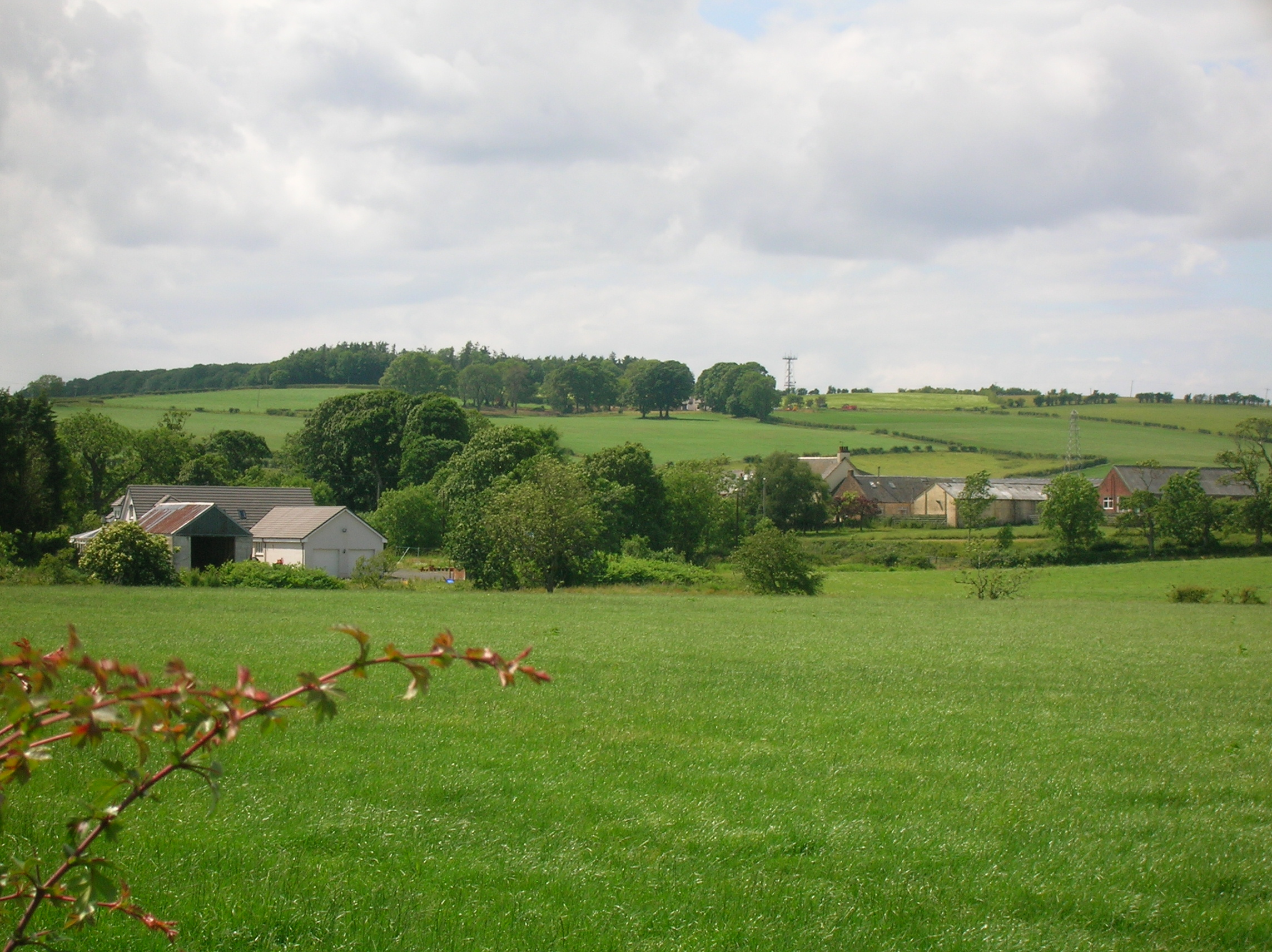 English: Fail Mill and Fail Mains from near Re...