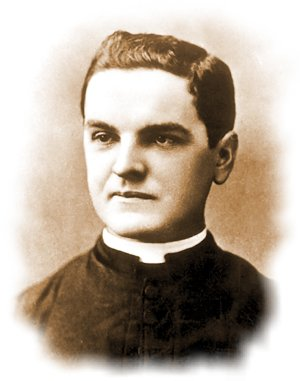 Michael J. McGivney, founder of the Knights of Columbus Father McGivney 300.jpg