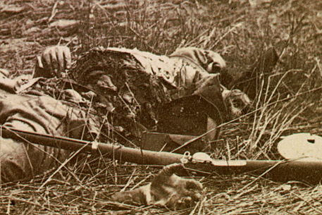 Confederate Soldiers Killed at Gettysburg