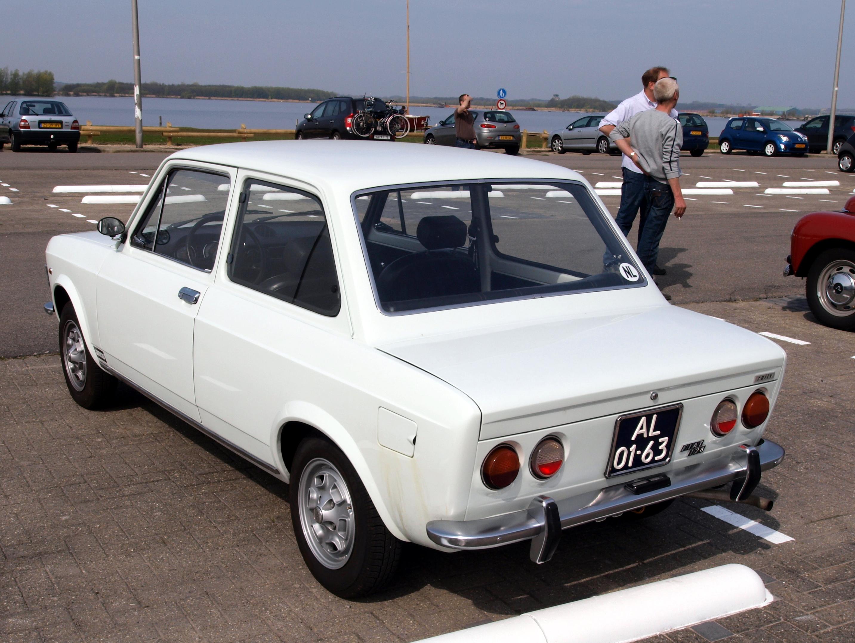 File:Fiat 128 Rally (1971), Dutch licence registration AL-01-