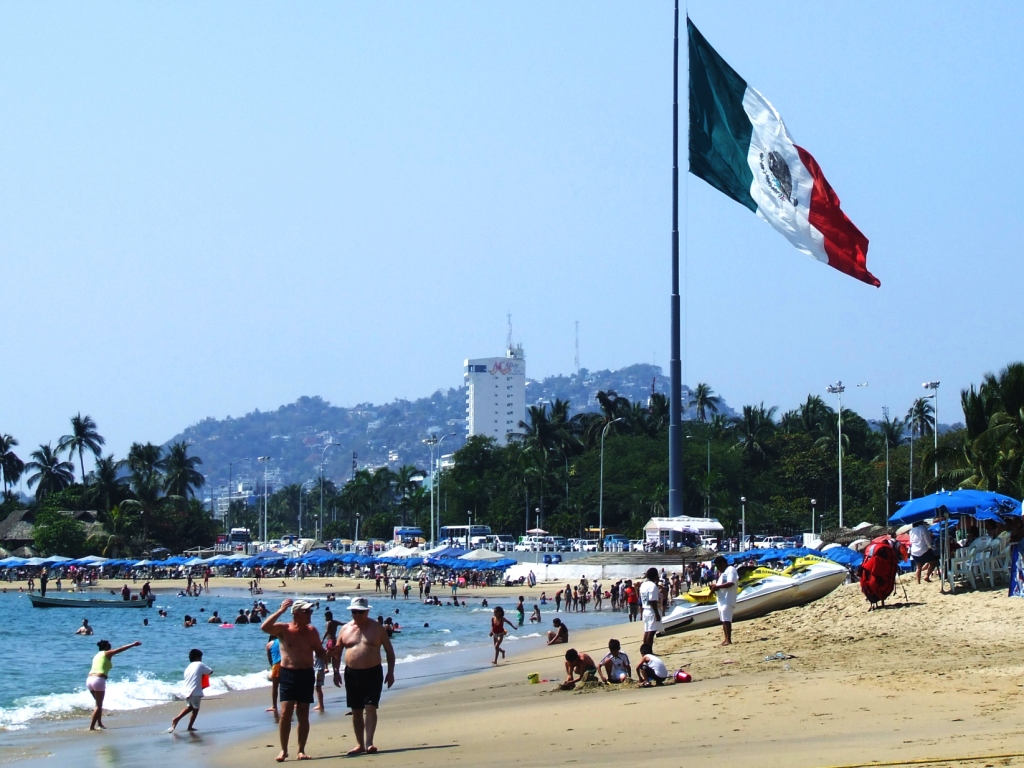 FileFlag of Mexico in Acapulcojpg FileFlag of