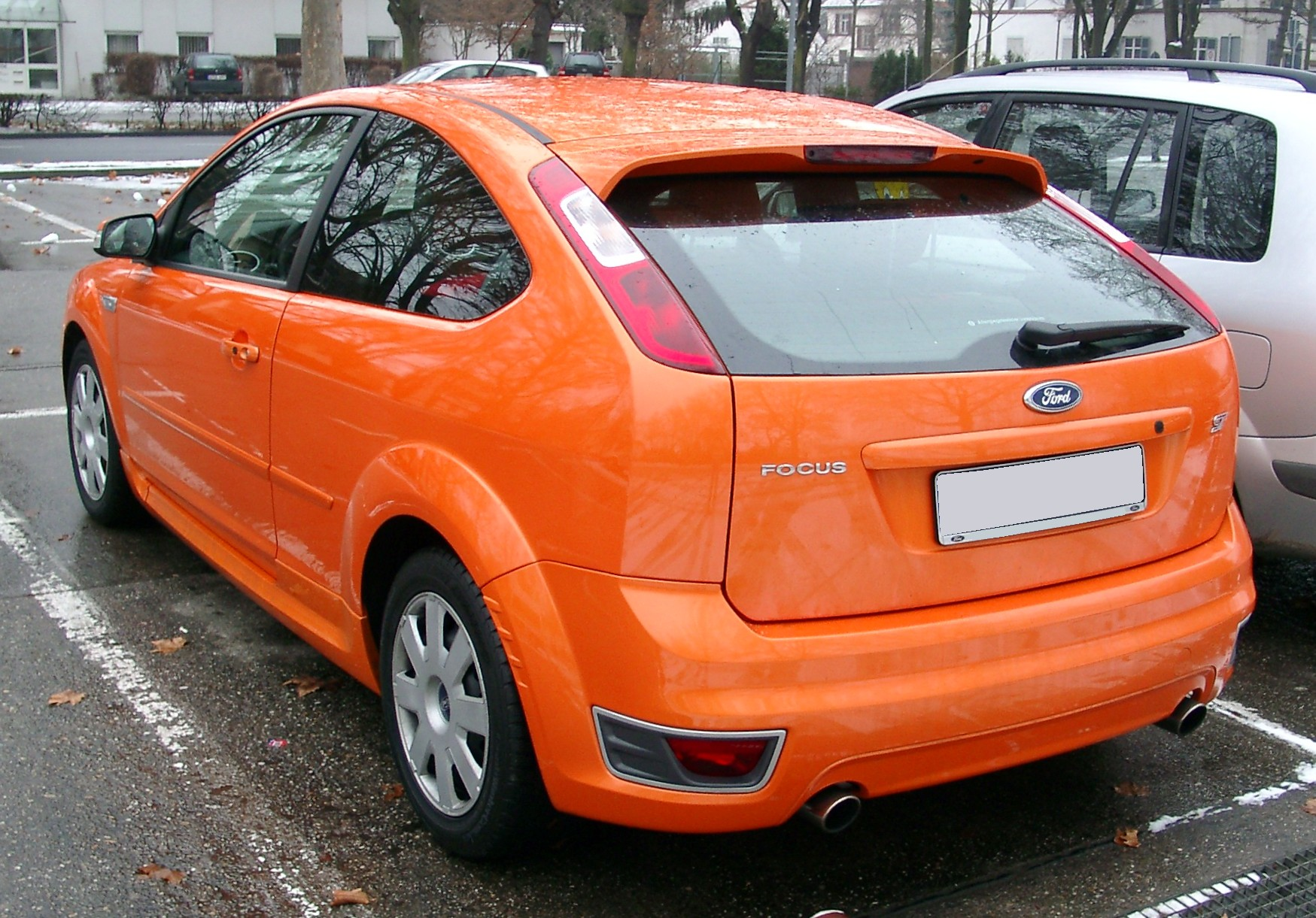 File:Ford Focus ST rear 20071227.jpg - Wikimedia Commons