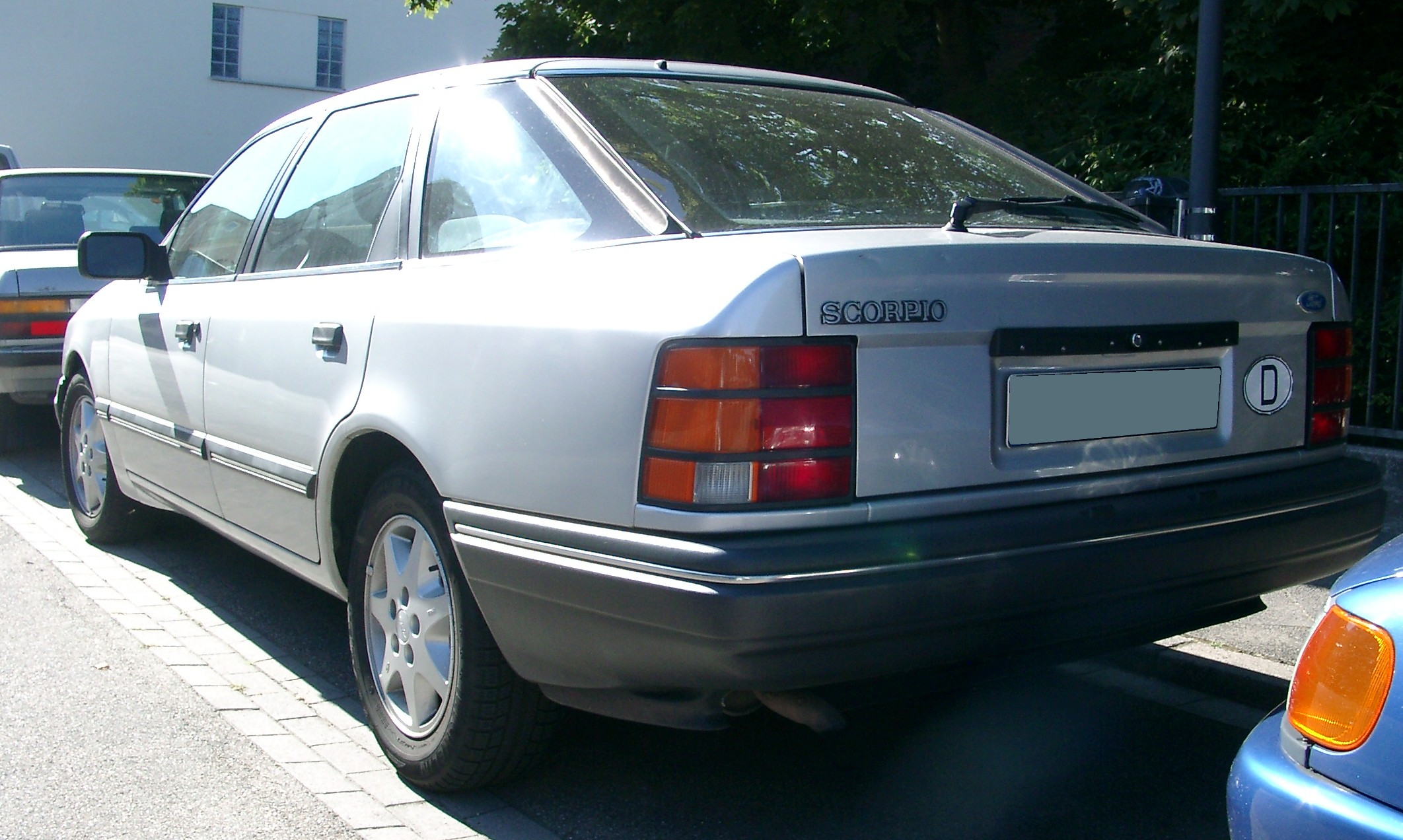 Форд скорпио 1989 фото
