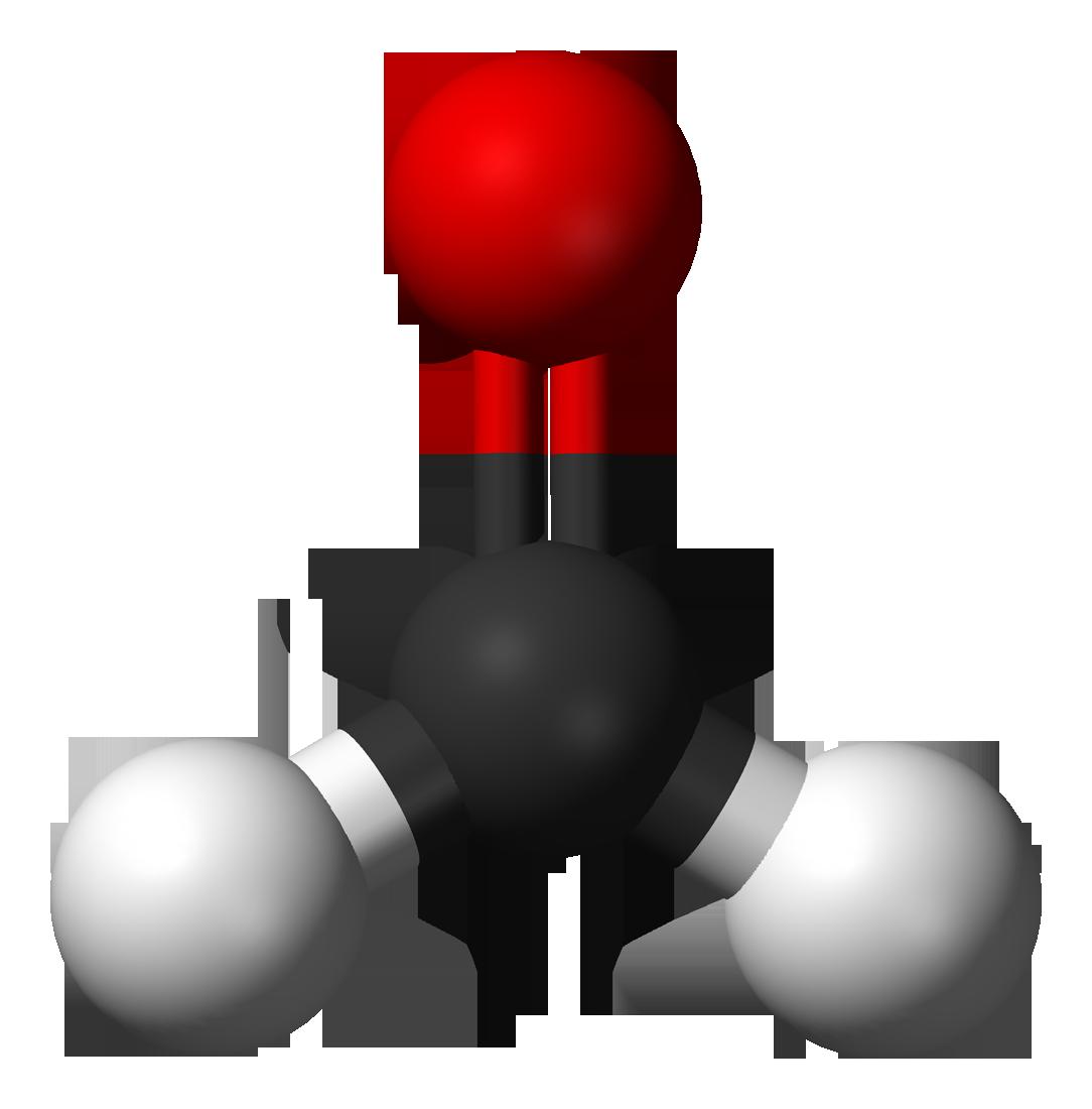 Formaldehyde-3D-balls