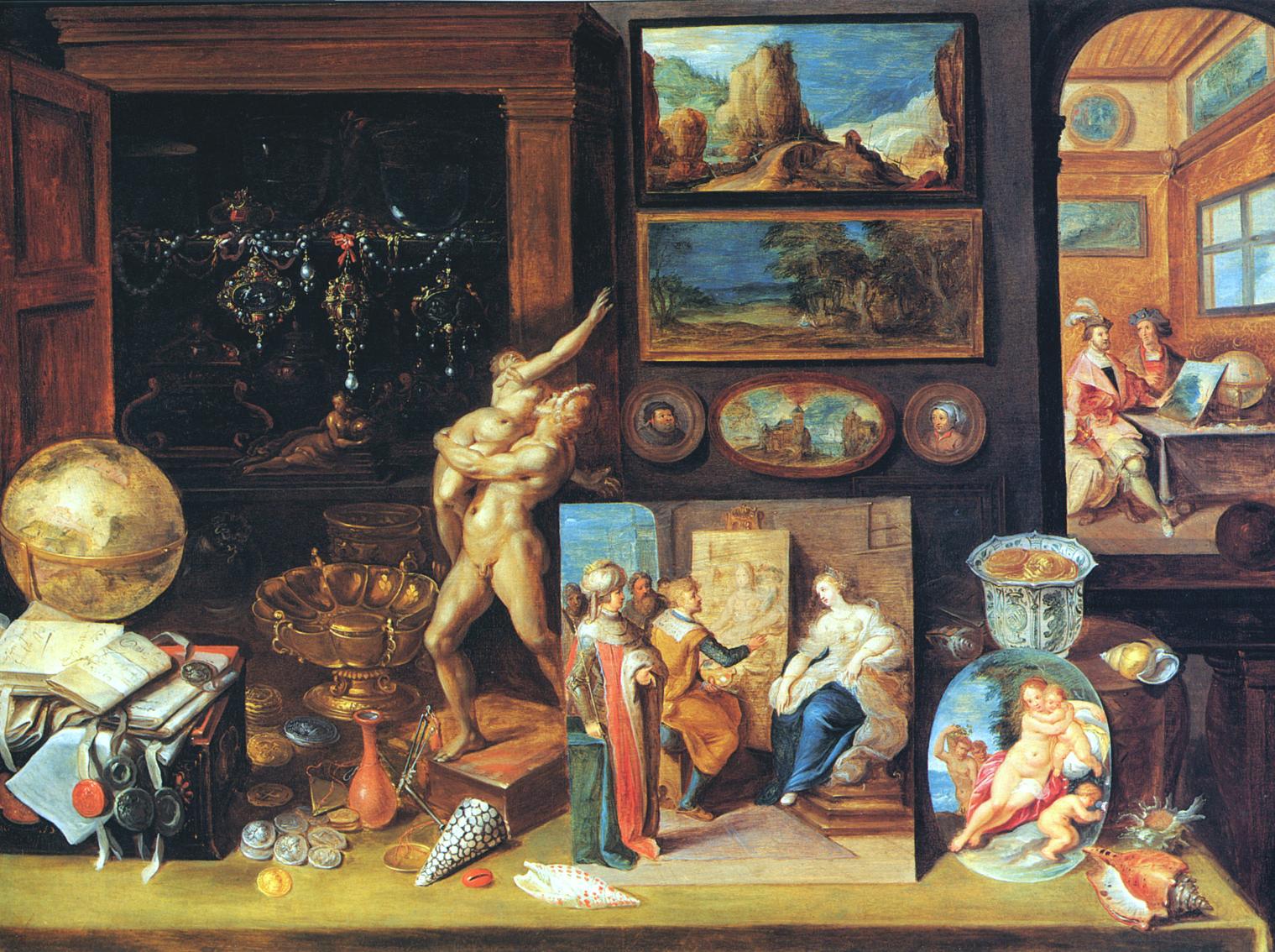 File:Frans Francken (II), A Collector's Cabinet (1625).jpg
