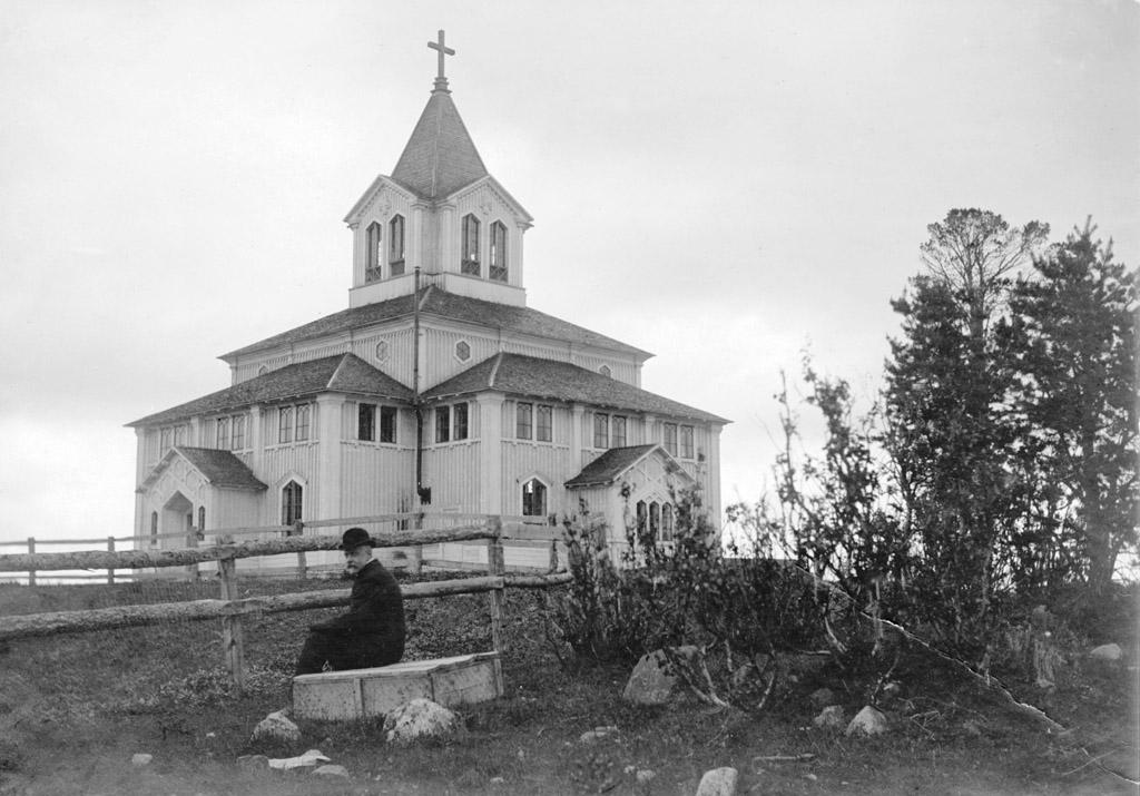 Bild av Gällivare kyrka