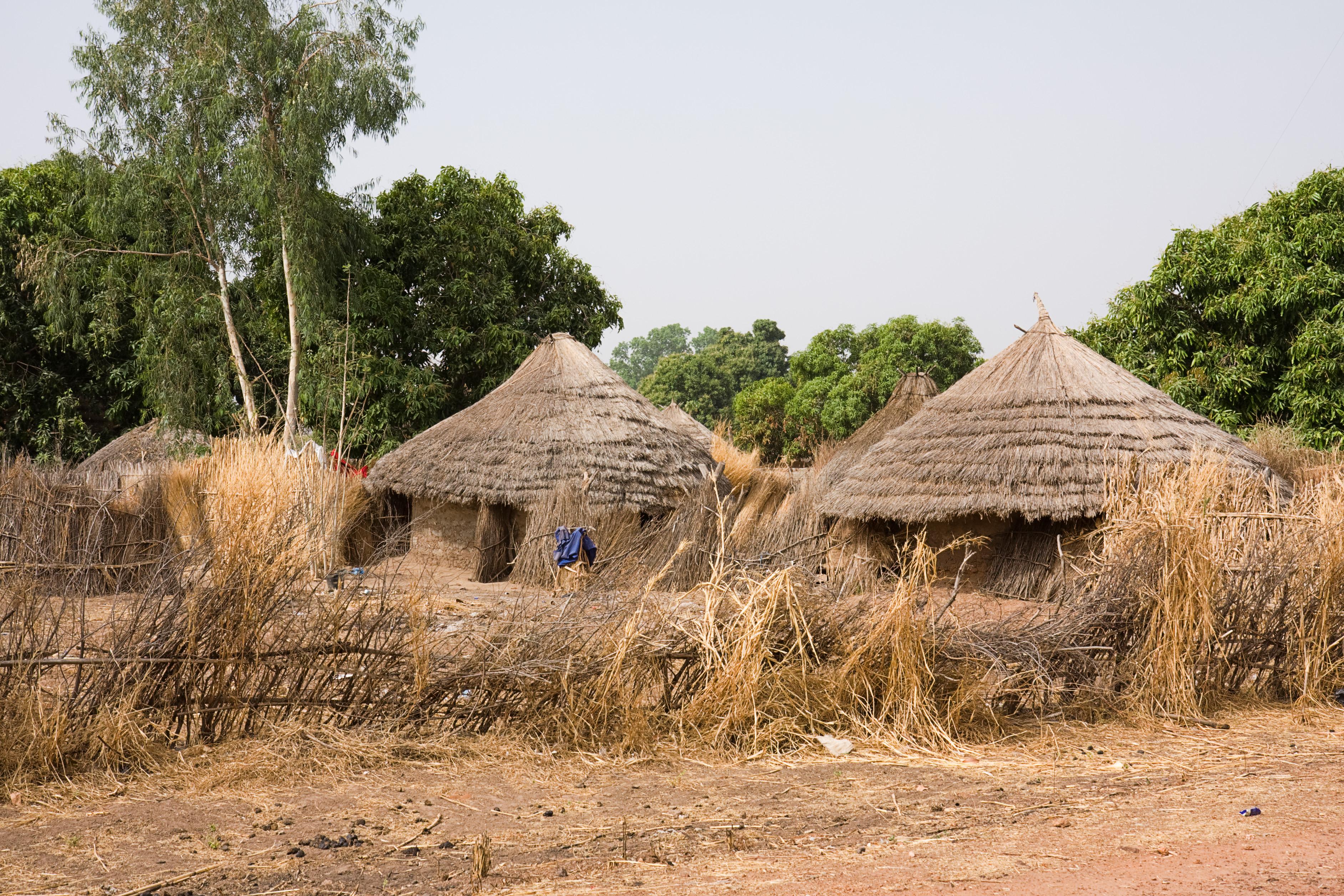 File:Gambian village.jpg - Wikimedia Commons