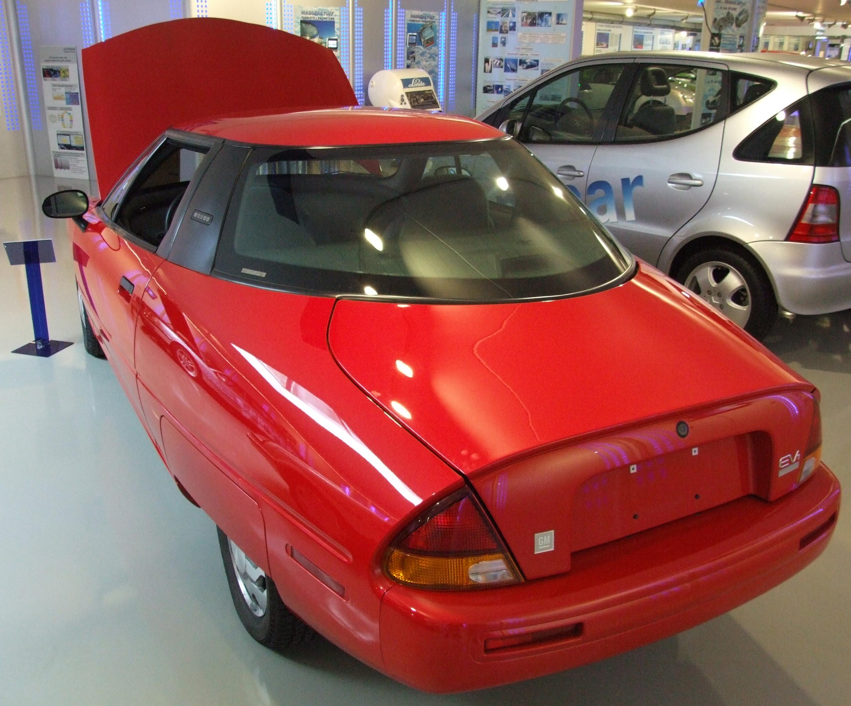 File:General Motors EV1 Rückansicht.jpg - Wikimedia Commons