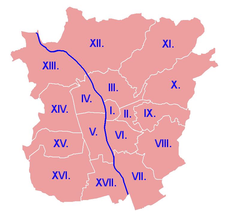 Grazer Stadtbezirke