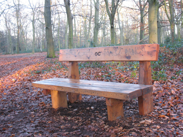 Green Chain bench - geograph.org.uk - 1074248