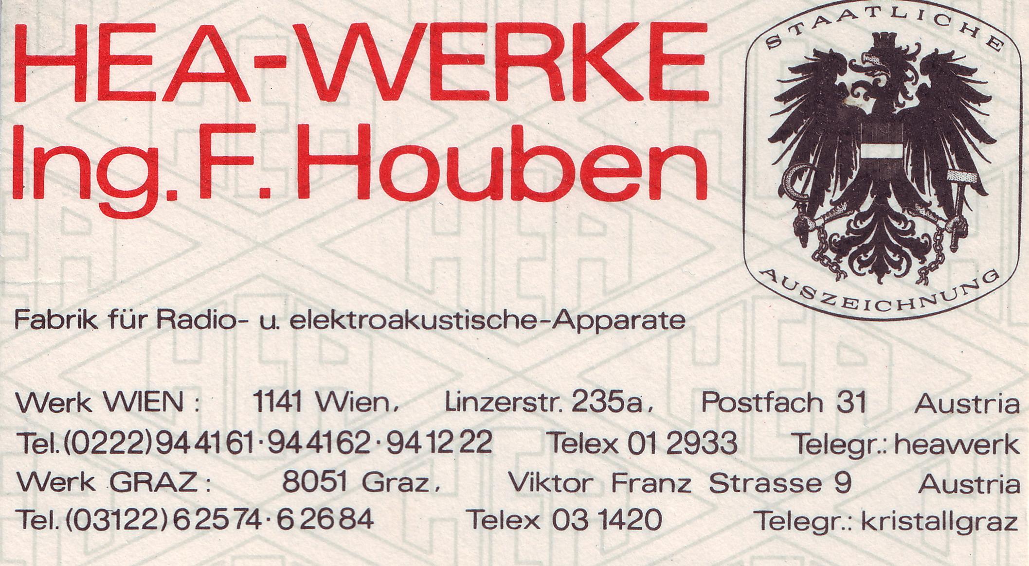 Datei Hea Werke Ing F Houben Visitenkarte Jpg Wikipedia