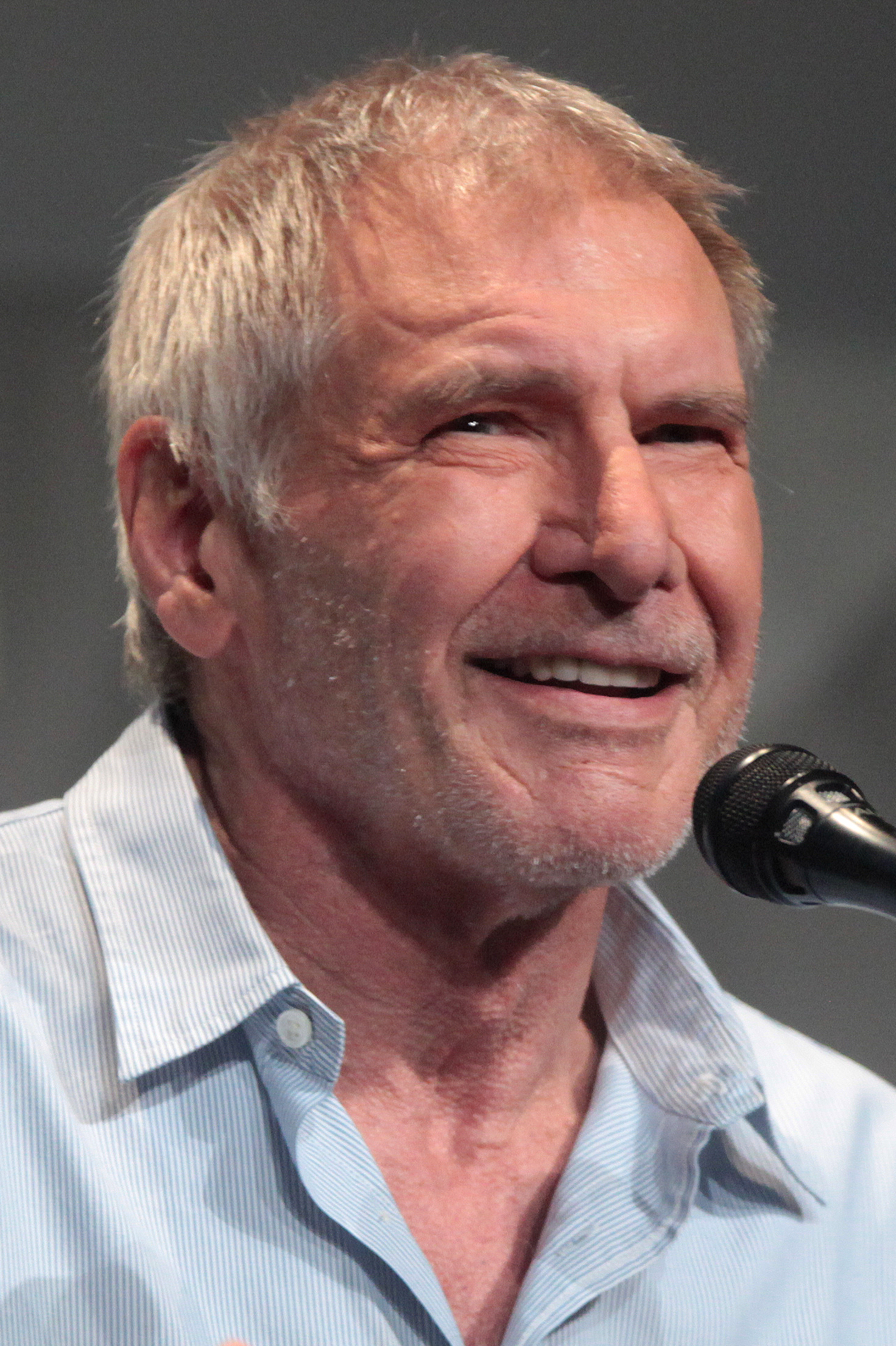 Depiction of Harrison Ford