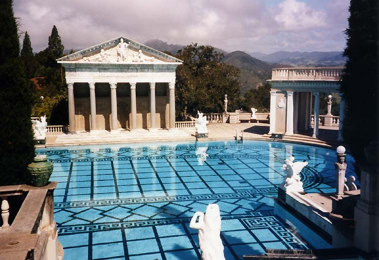 Hearst Castle Pool at San Simeon