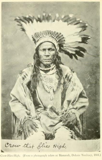Hidatsa Chief Crow Flies High He Left His Heart On
