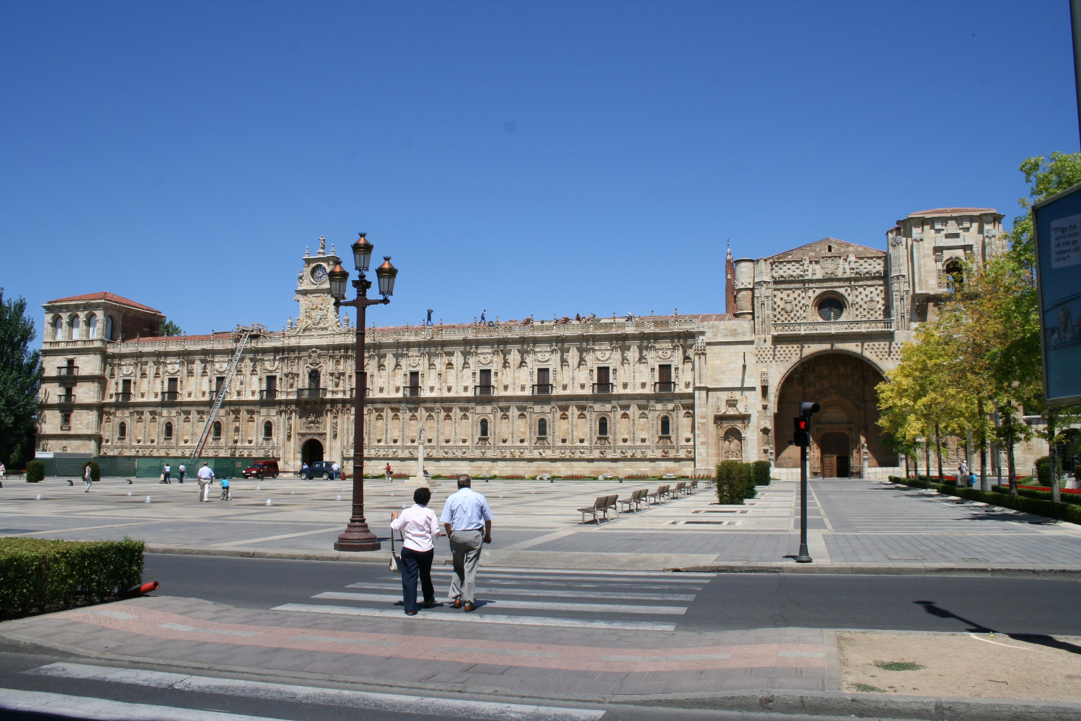 Convento de San Marcos en León.