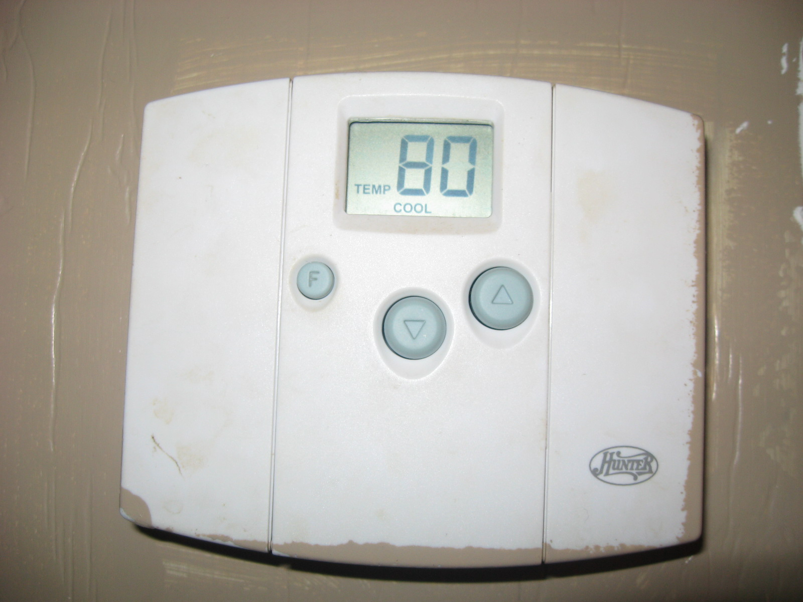 Non Programmable Digital Thermostat #526F79