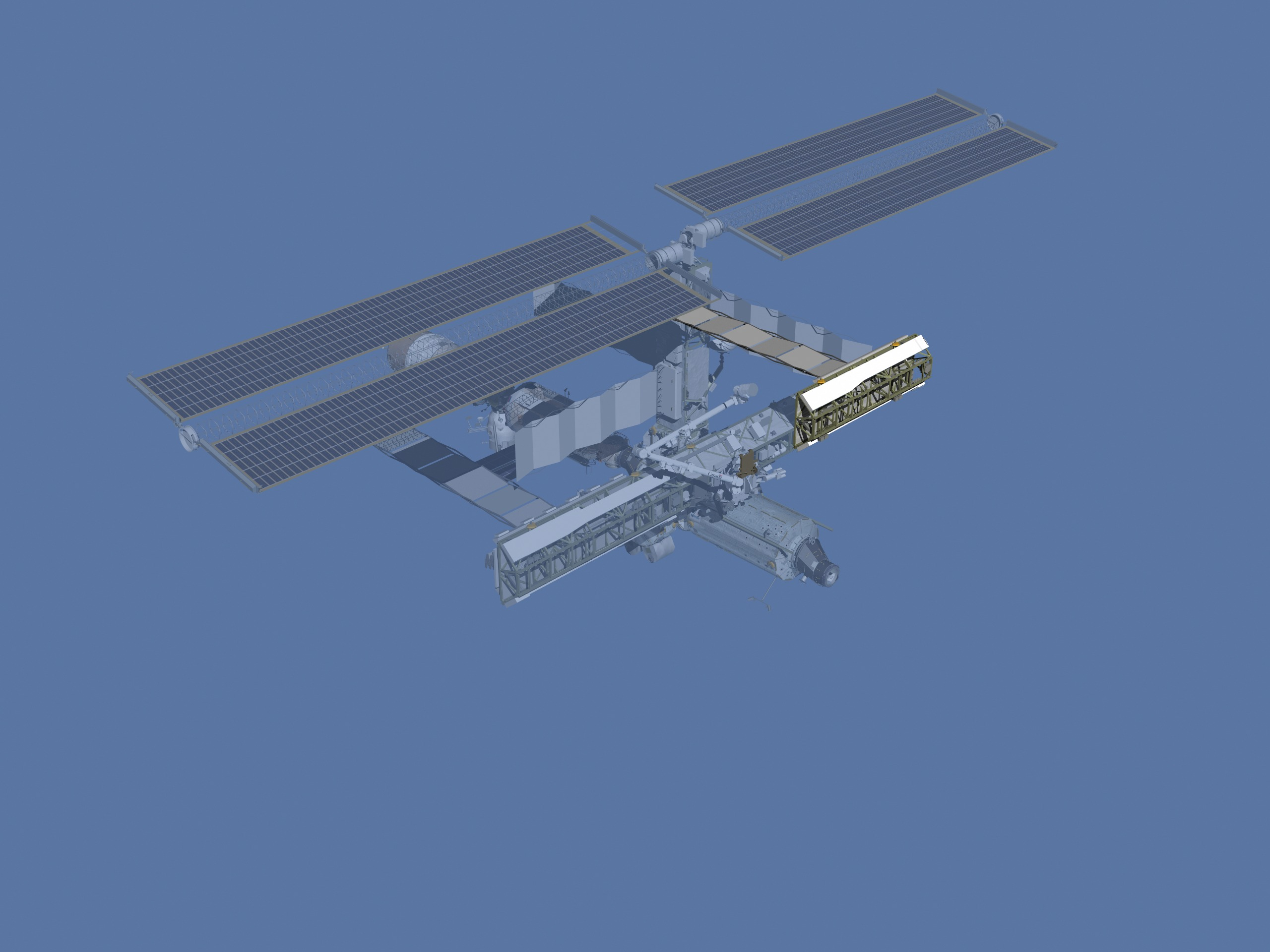 Animation assemblage ISS ISSafterSTS113
