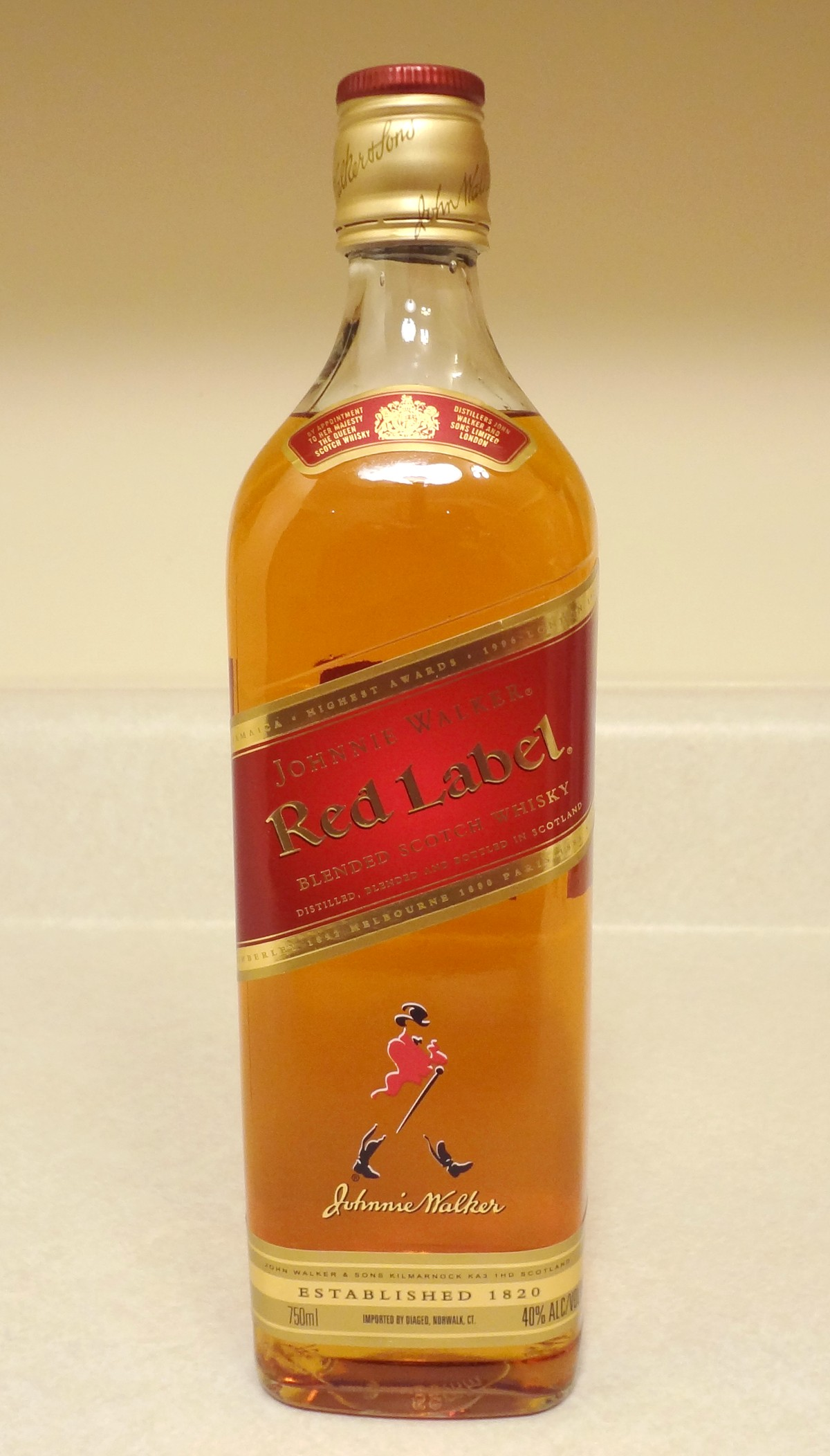 Red Label Whiskey Shoes