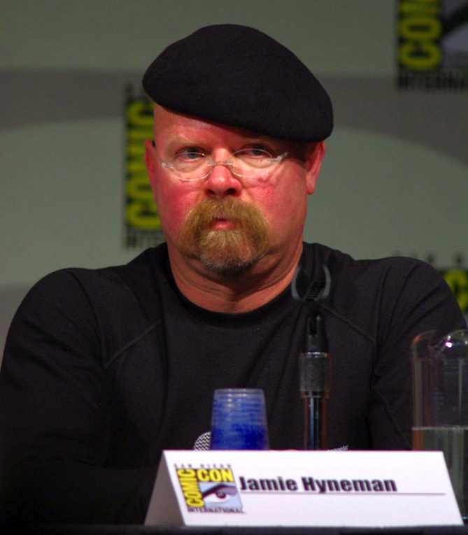 Jamie Hyneman As A Kid