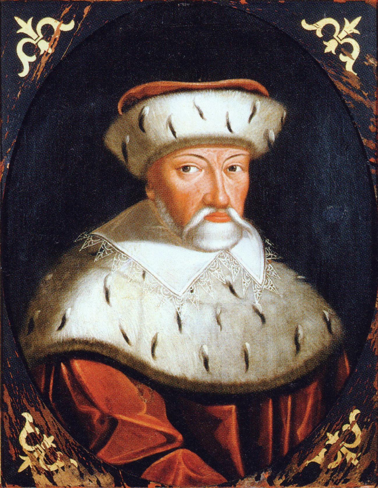 Joachim Frederick, Elector of Brandenburg: portrait by [[Johann Bussemacher]]