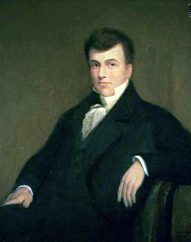 Jonathan Jennings by James Forbes, c. 1819, courtesy of the Indiana State Library