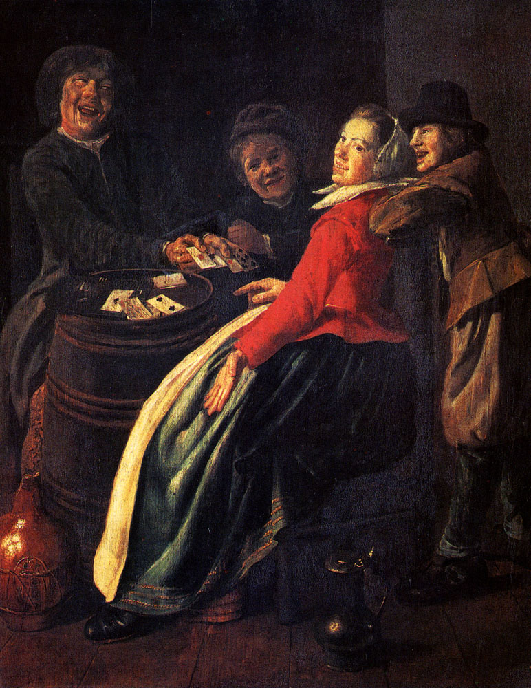 File:Judith Leyster A Game Of Cards jpg - Wikimedia Commons