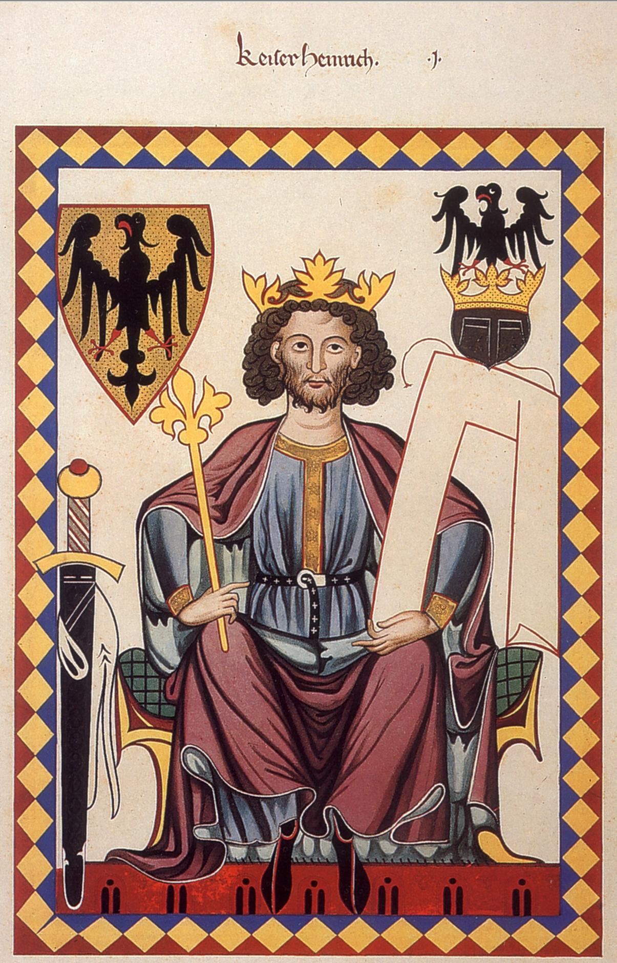 Kaiser Heinrich Vi C Minnes C A Nger