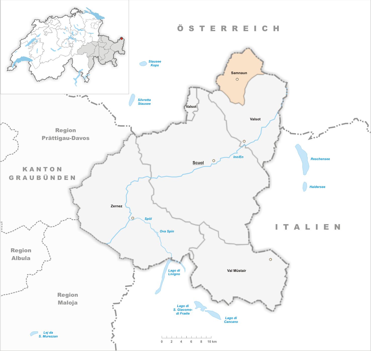 Samnaun - Alemannische Wikipedia