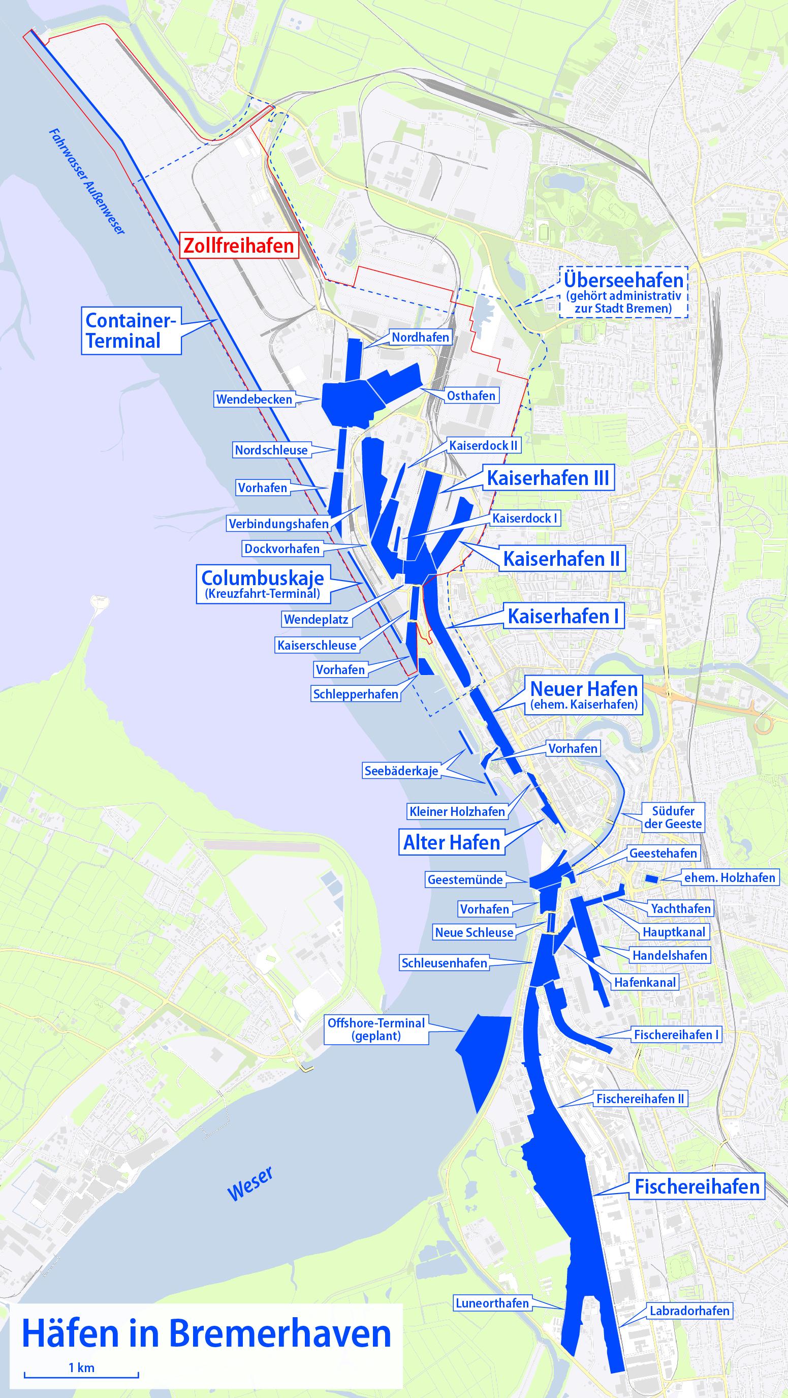 bremerhaven karte Datei:Karte der Häfen in Bremerhaven.png – Wikipedia