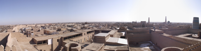 Description khiva узбекистан panorama jpg