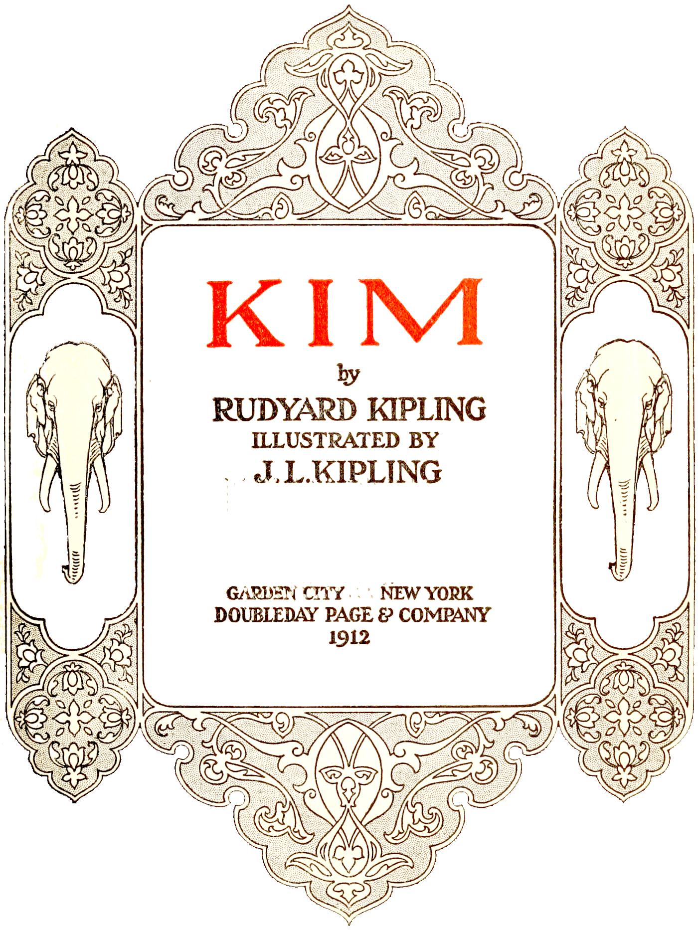Kim (novel) - Wikipedia