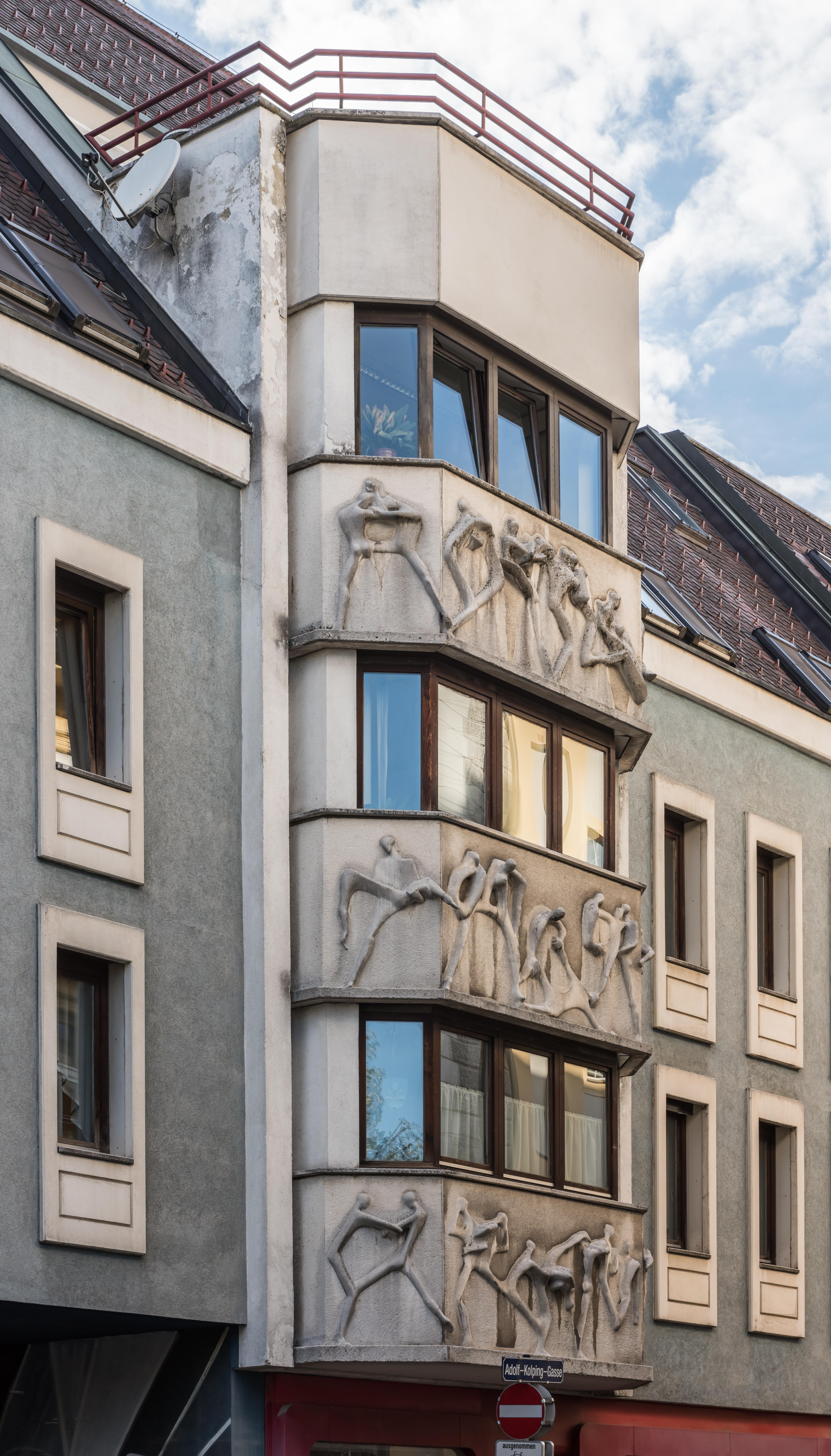 Großartig Hausfassade Modern Das Beste Von File:klagenfurt Adolf-kolping-gasse 6 Von Jan Milan Krkoska