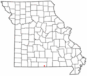 Howards Ridge, Missouri unincorporated community in Missouri