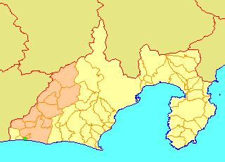 Former municipality in Chūbu, Japan