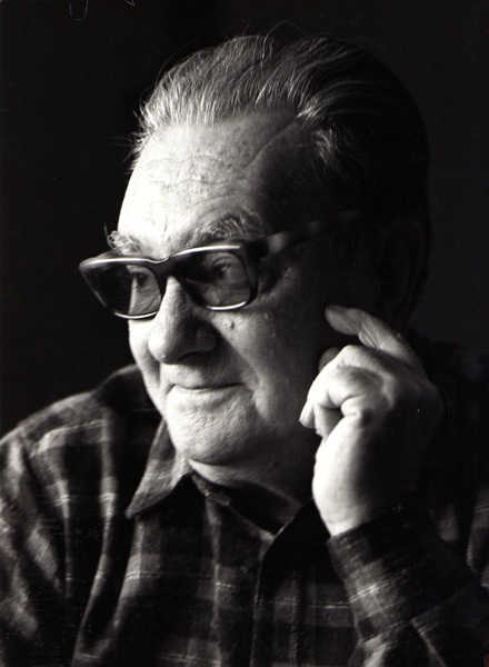 El retrat de Joan Brossa per Martí Gasull és una de les fotografies alliberades
