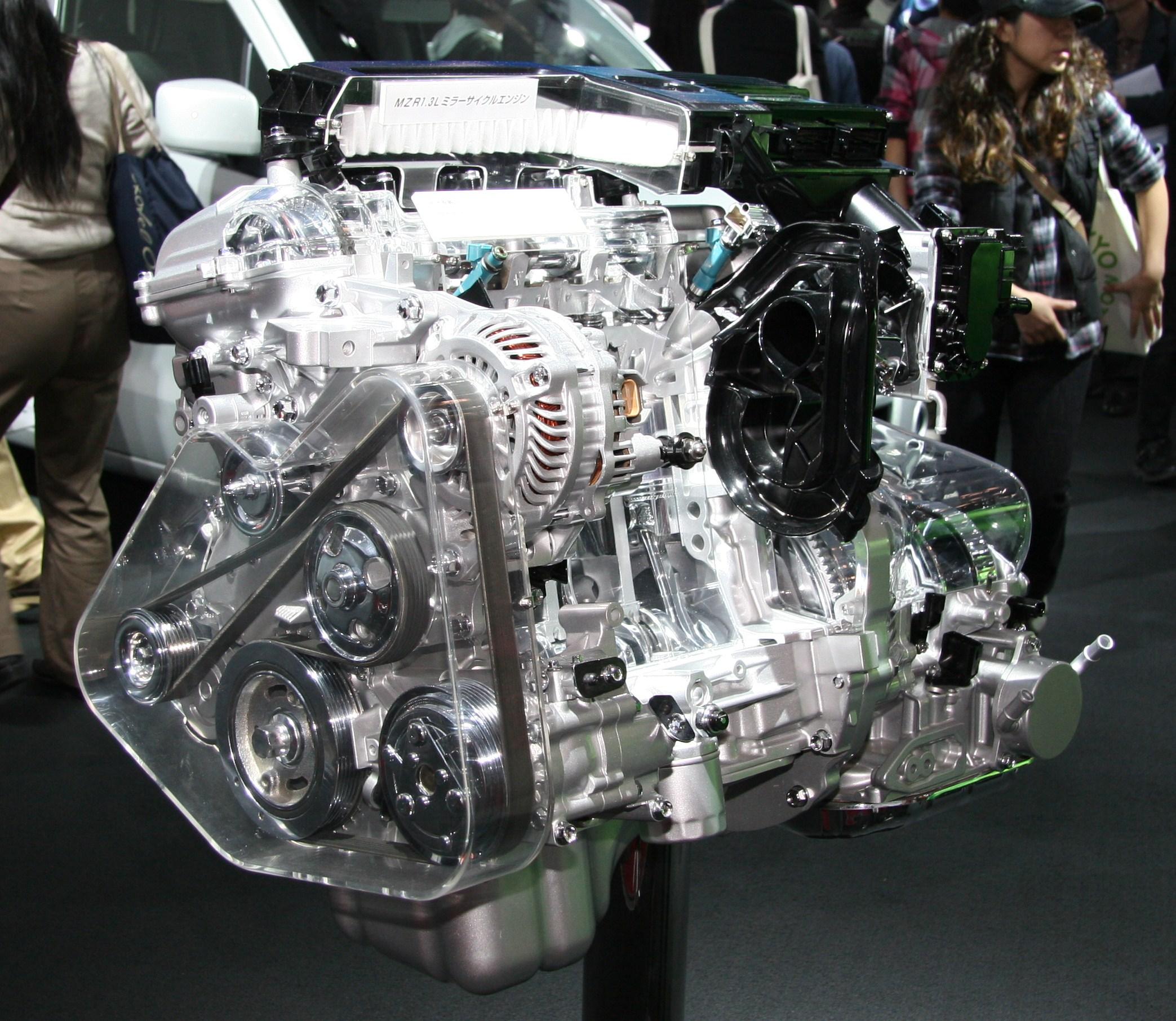 mazda 2 2009 engine