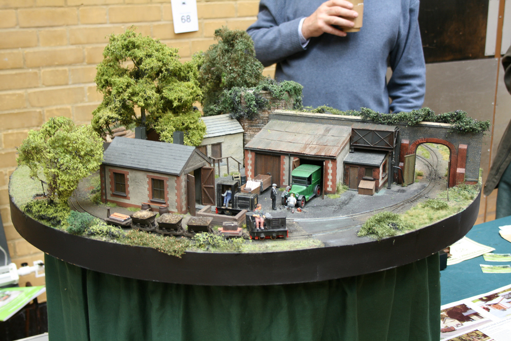 The dixie central railroad in ho other round layouts - Ho scale layouts for small spaces concept ...