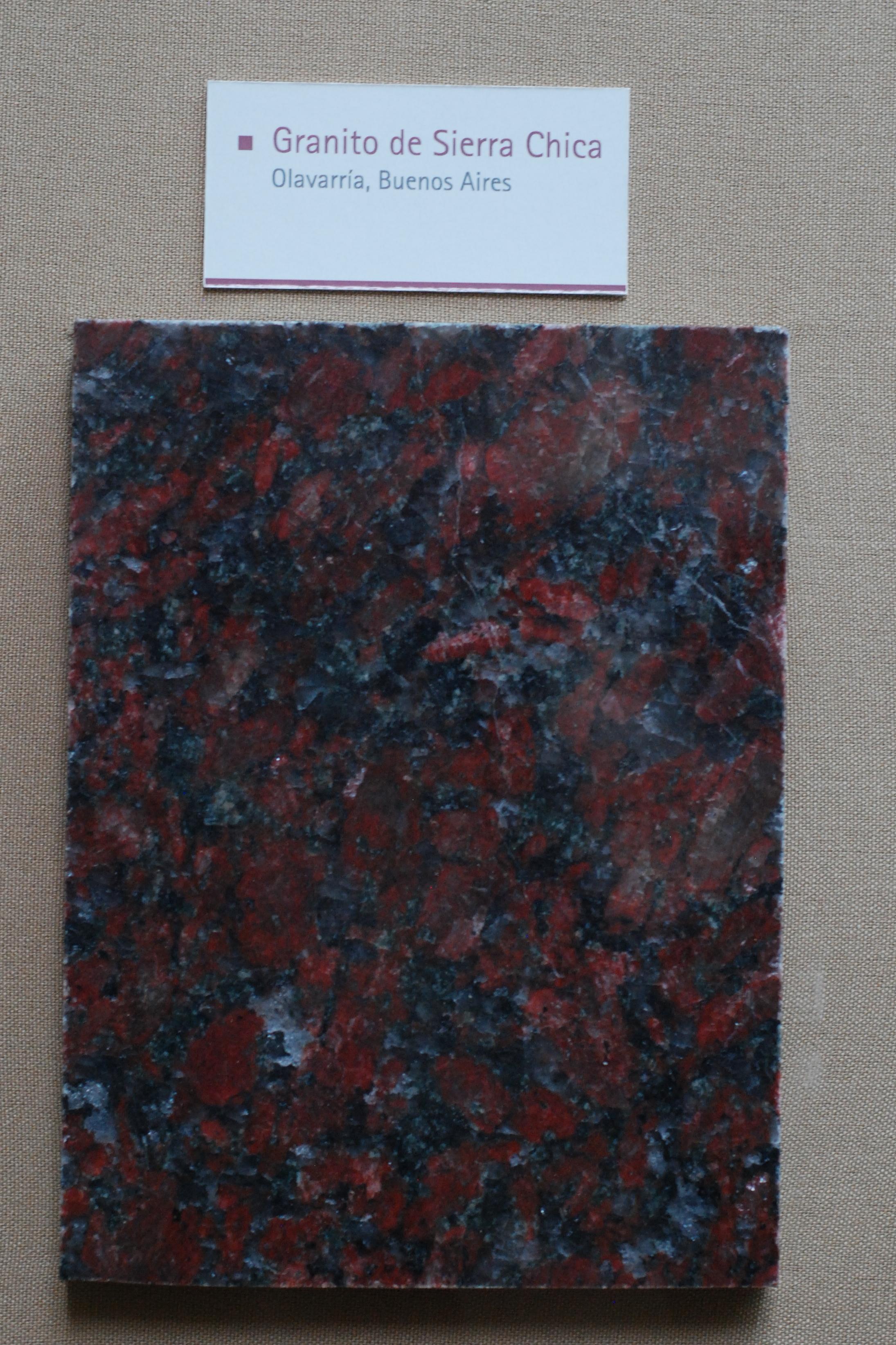 File museo de la plata granito de sierra for Granito argentina