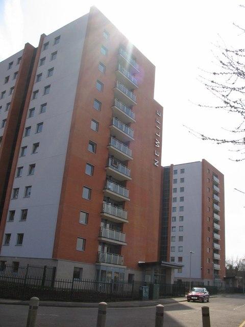 File New Life Apartments Spring Boroughs Geograph Org Uk 819750 Jpg