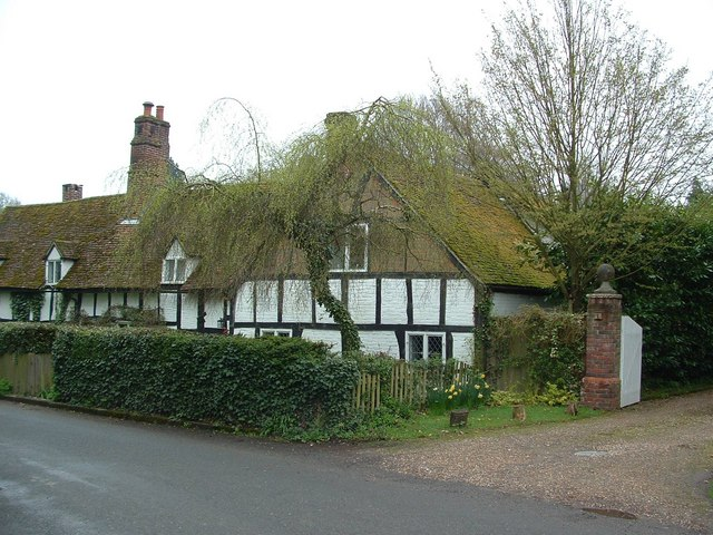Old Cottages, Ayot St Lawrence - geograph.org.uk - 1257233