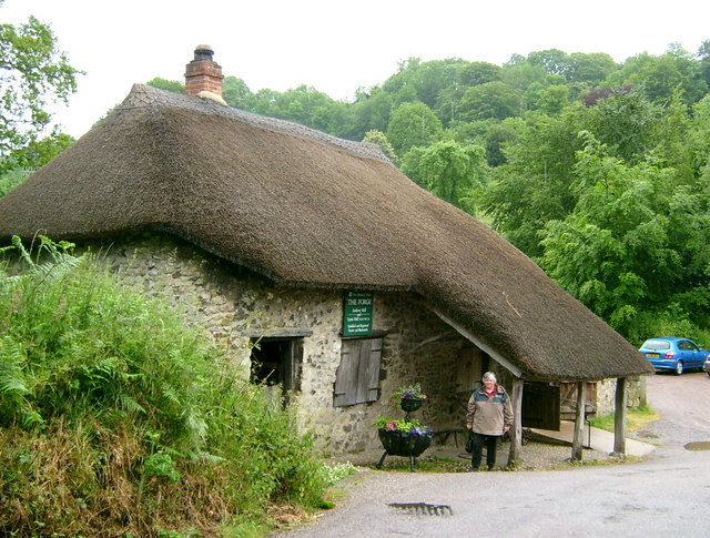 File Old Forge Branscombe Devon Geograph Org Uk