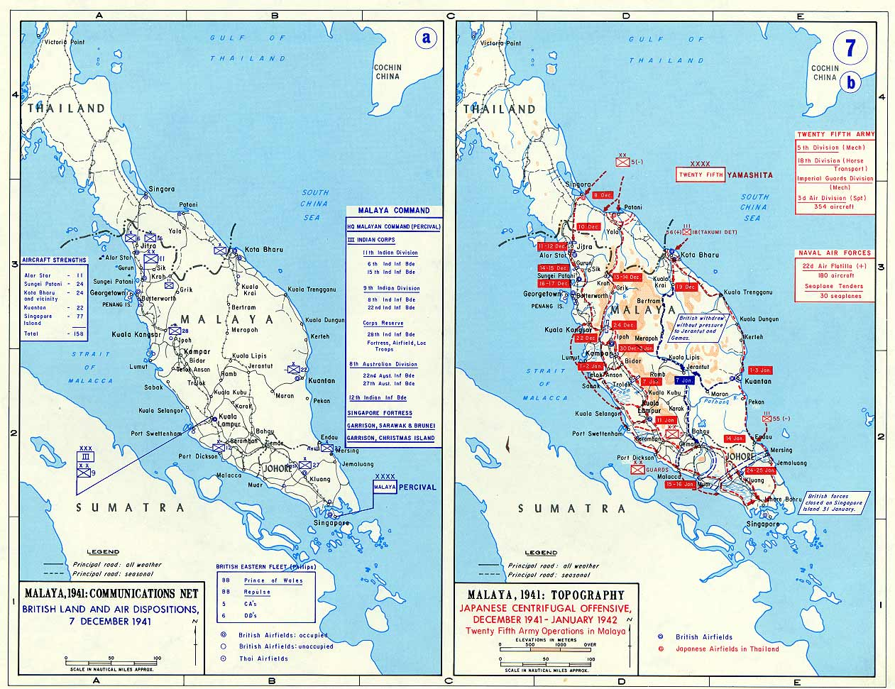 the malaya campaign 1941 42 history essay The campaign began on 8 december 1941 when japanese forces landed  the  campaign ended on 31 january 1942 with the japanese forces gaining control of  the malay peninsula  a history of singapore 1819–1988.